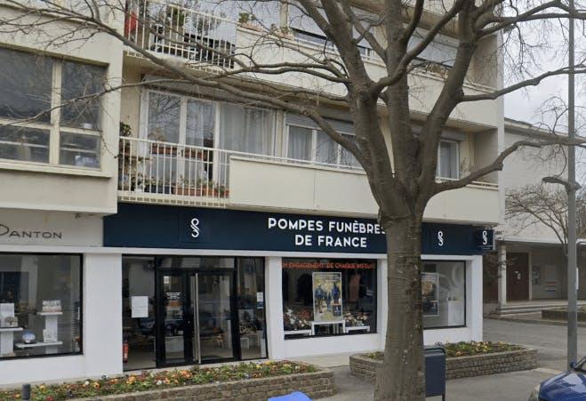 Photographie de Pompes Funèbres de France
