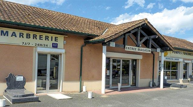 Photographie Pompes Funèbres Marbrerie Bordelaises de Floirac