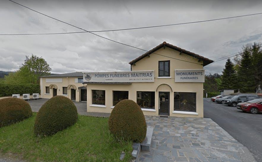 Photographie de la Chambre Funéraire Maitrias