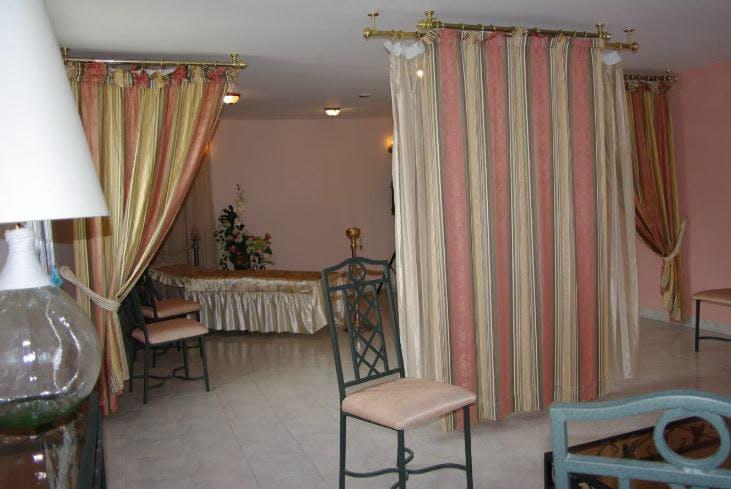 Présentation salon funéraire de la Chambre funéraire Novarini
