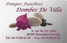 Photo de la Pompe Funèbre POMPES FUNEBRES DOMBES DE VILLA