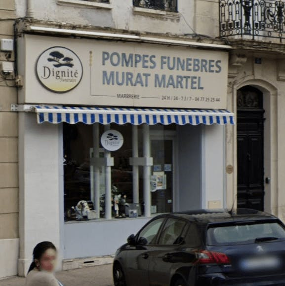 Photographie Pompes Funèbres et Marbrerie Murat Martel de Saint-Étienne