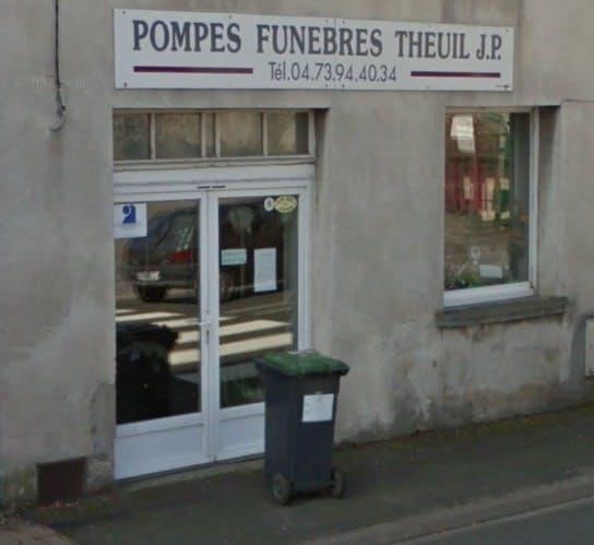 Photographie Pompes Funèbres Theuil Jean-Pierre de Chabreloche