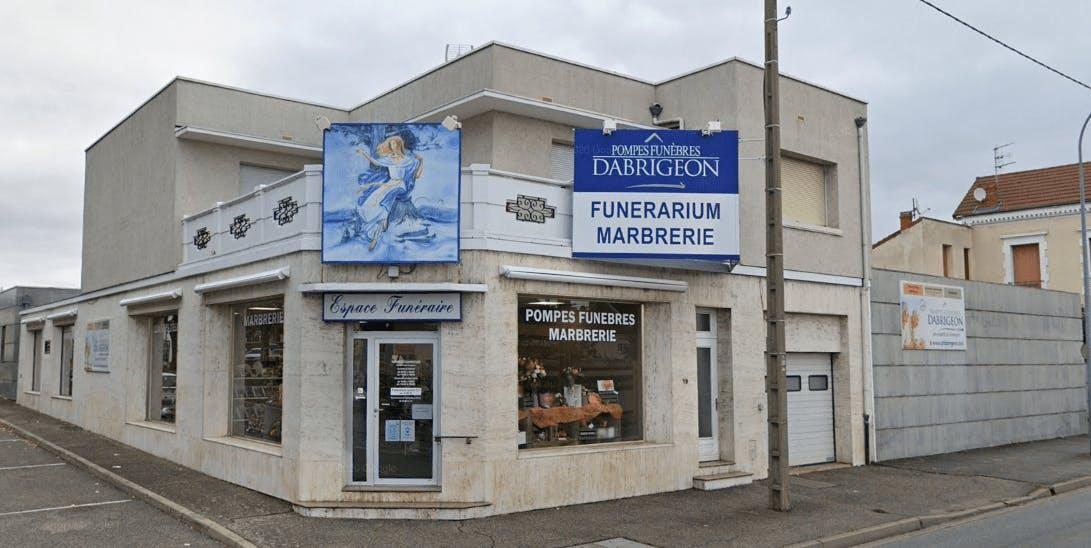 Photographie de la Pompes Funèbres Dabrigeon -FUNERIS