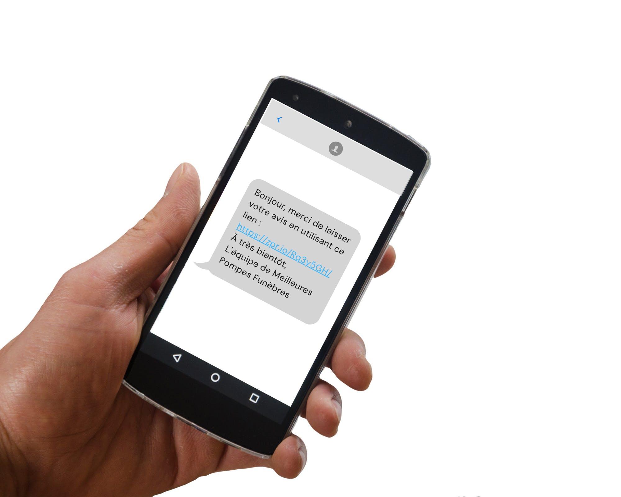 Avis google SMS