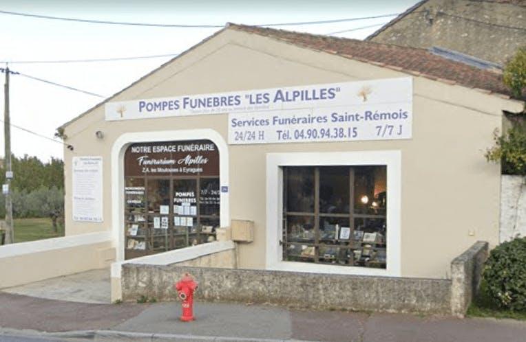 Photographie Pompes Funèbres ALPILLES de Saint-Rémy-de-Provence