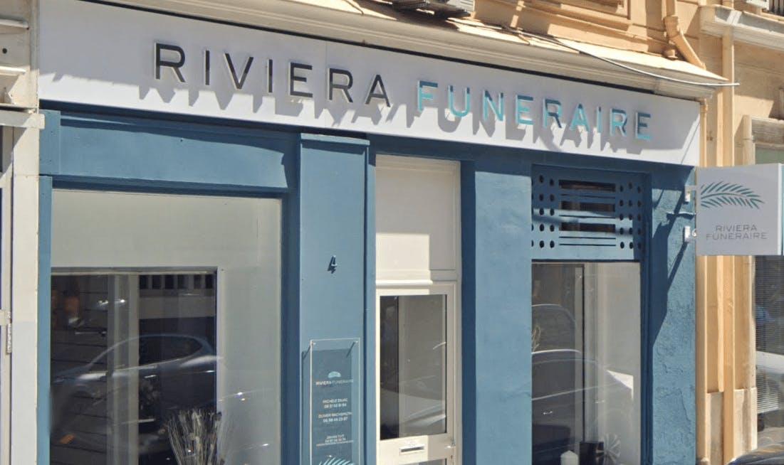 Photographie de la Pompes Funèbres Riviera Funéraire
