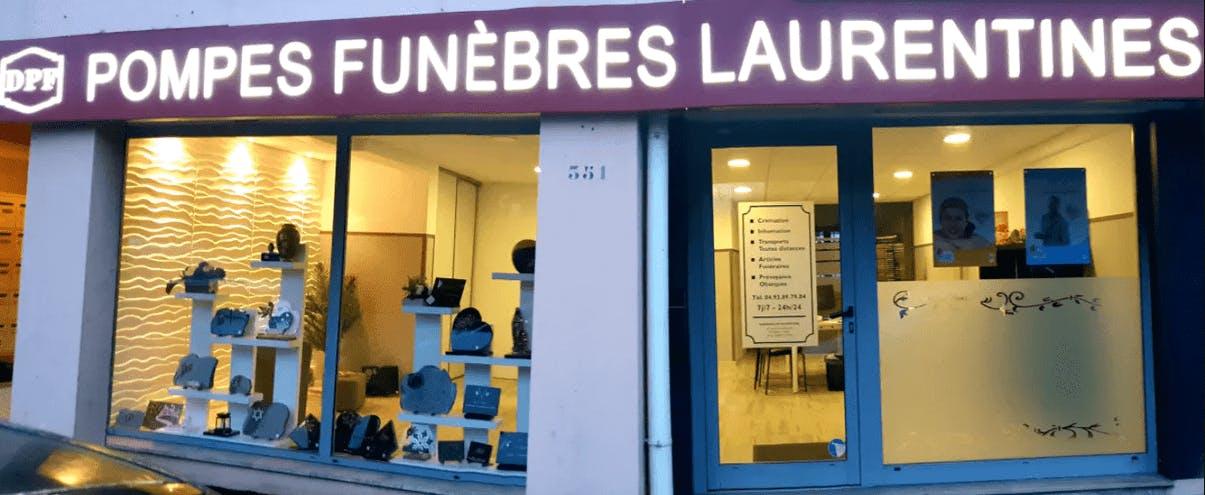 Photographie de la Pompes Funèbres Laurentines