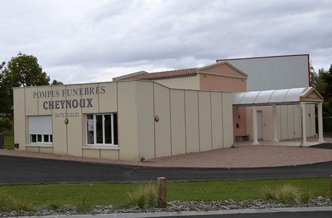 Photographie de la Chambre funéraire Cheynoux