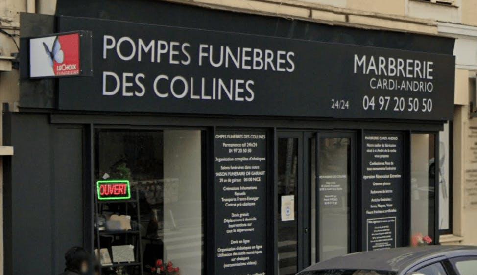Photographie de la Photo de la Pompes Funèbres des Collines - Le Choix Funéraire