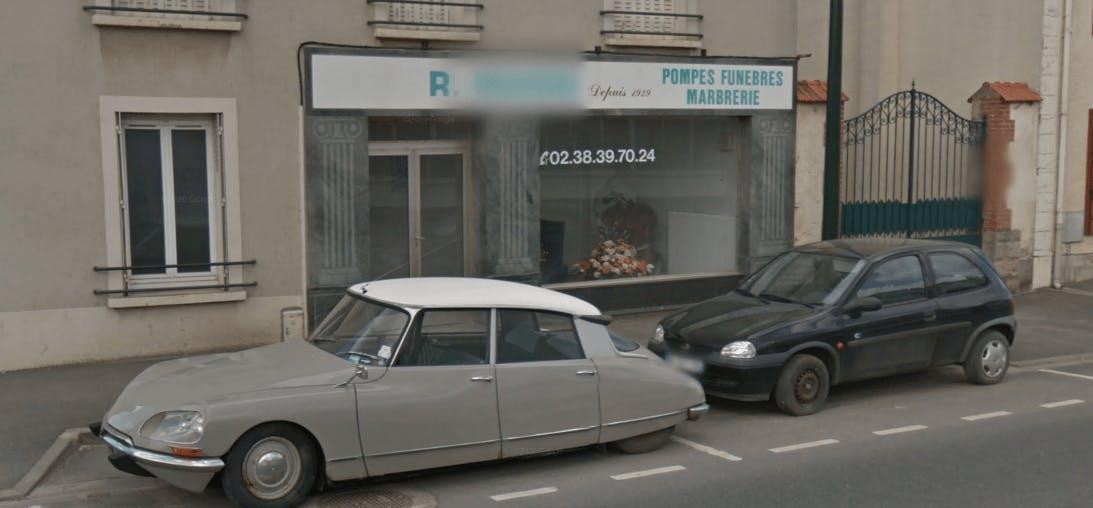 Photographie Pompes Funèbres et Marbrerie Roger Marin de Sermaises