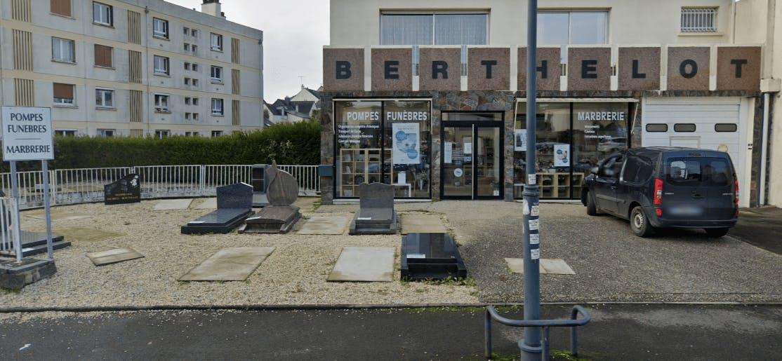 Photographie Pompes Funèbres et Marbrerie Berthelot de Rennes