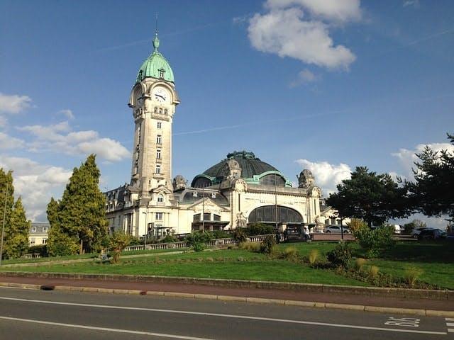 Gare de la ville de Limoges