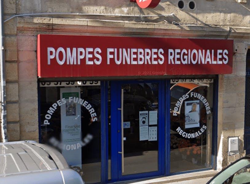 Photographie de Pompes Funèbres Régionales