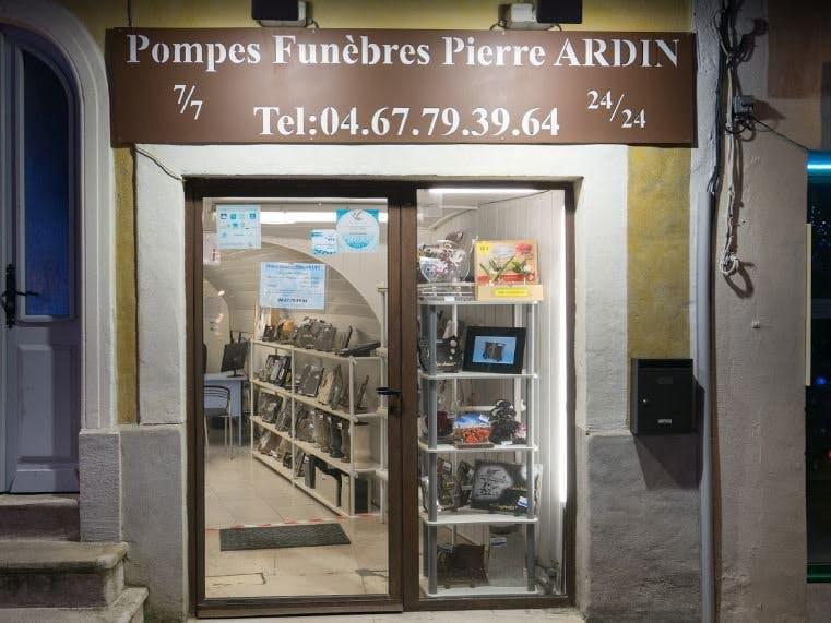 Photo de la Pompe Funèbre PF PIERRE ARDIN