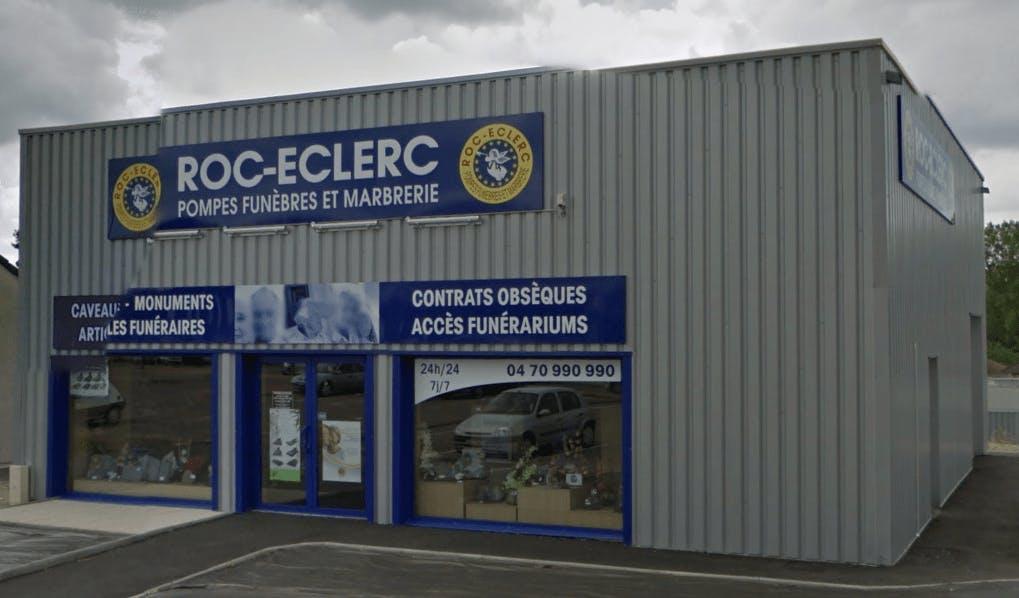 Photographie de la Roc-Eclerc Pompes funèbres Faucheron