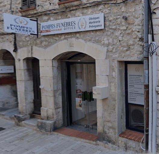 Photographie de la Pompes Funèbres Office