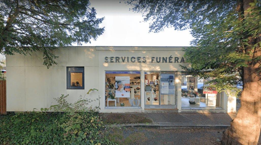 Photographie de la Chambre Funéraire des PFG