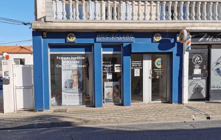 Photographie Pompes Funèbres Roc-Eclerc de Châteauneuf-les-Martigues