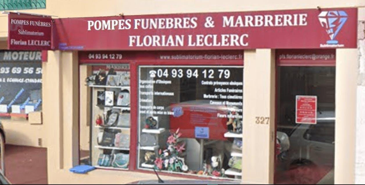 Photographie de la Pompes Funèbres Florian Leclerc