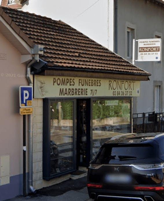 Photographie de la Pompes Funèbres et Marbrerie Ronfort de Belfort