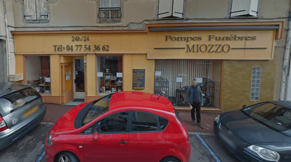 Photographie Pompes Funèbres Miozzo de Chazelles-sur-Lyon