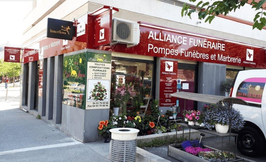 Photographie de la Pompes Funèbres Alliance Funéraire