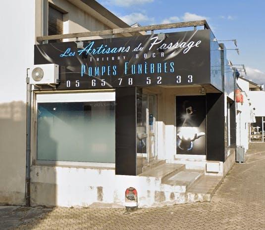 Photographie Pompes Funèbres Les Artisans du Passage de Luc-la-Primaube