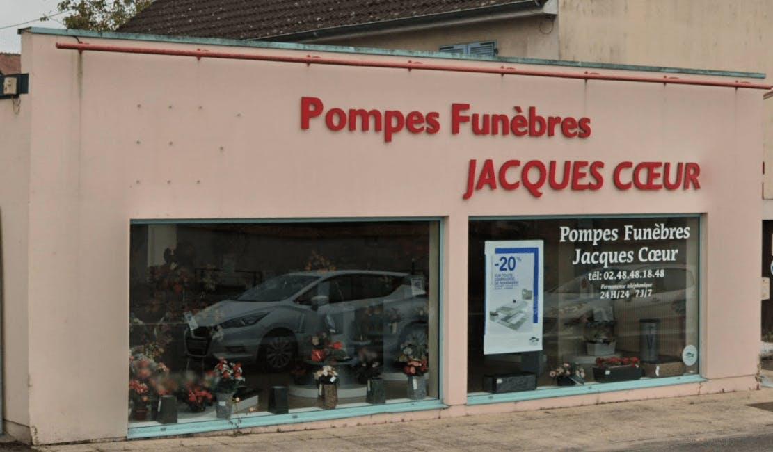 Photographie de la Pompes Funèbres Jacques Coeur - Dignité Funéraire
