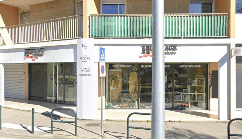 Photographie HOMMAGE Funéraire d'Aix-en-Provence