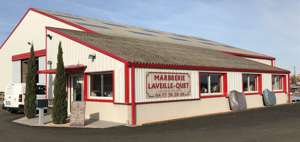 Photo de la Pompe Funèbre Marbrerie Laveille Quet