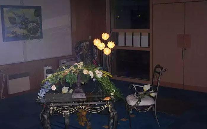 Intérieur de la Chambre funéraire Besset