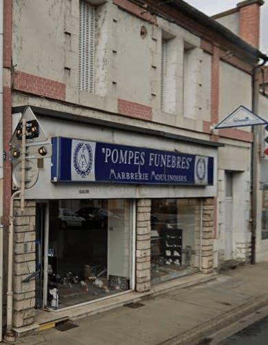 Photographie de la Pompes Funèbres Moulinoises