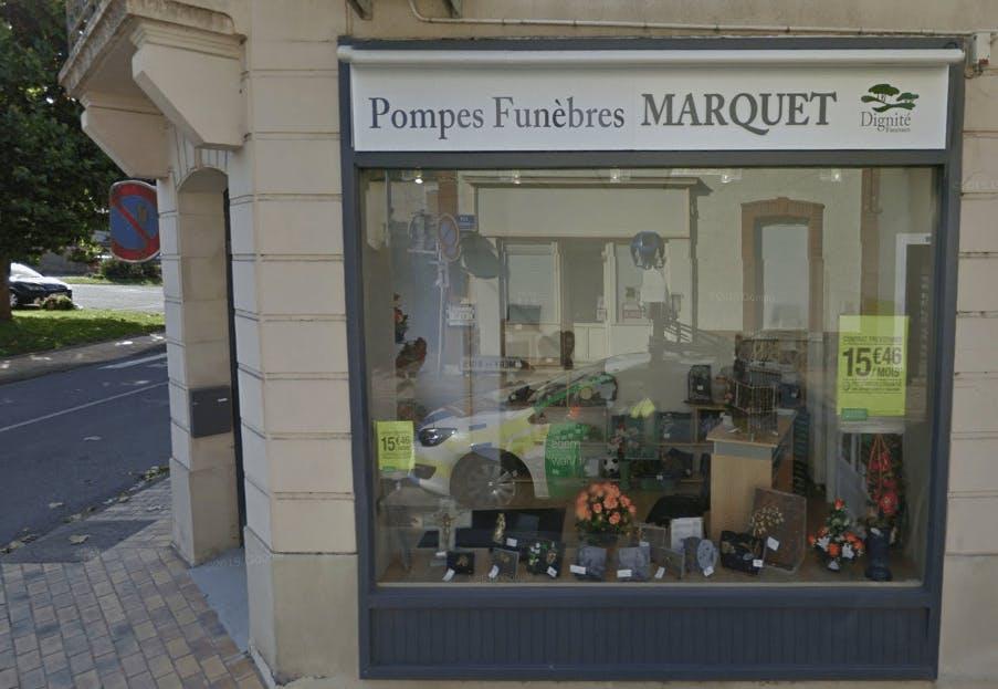 Photographie de la Pompes Funèbres et Marbrerie Marquet -Dignité Funéraire