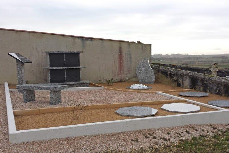 Photo de la Pompe Funèbre Marbrerie Cahuzac