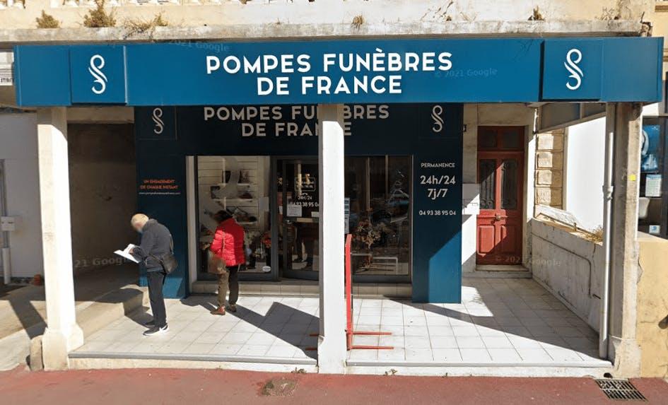 Photographie de la Pompes Funèbres De France