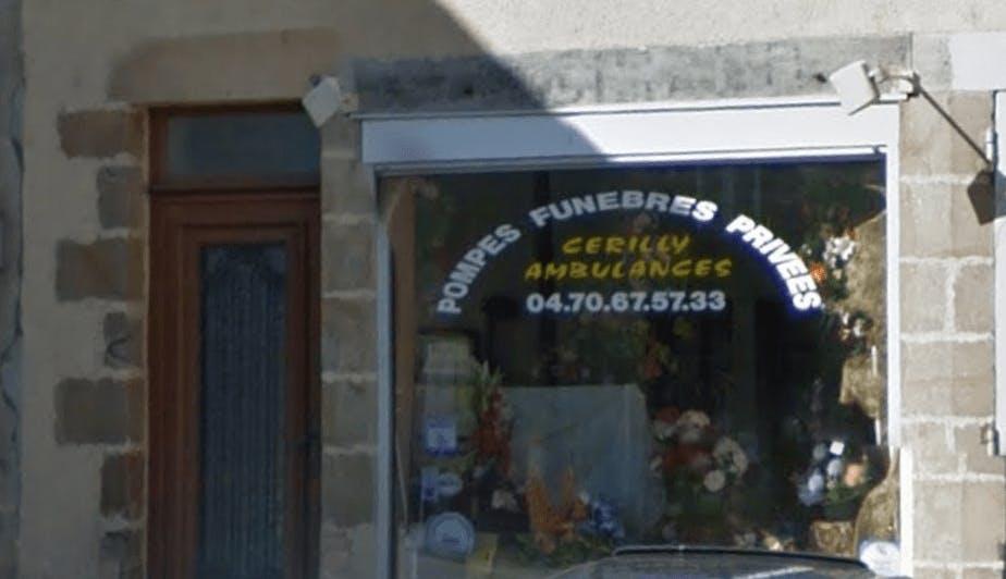 Photographie de la Pompes Funèbres Cerilly Ambulance