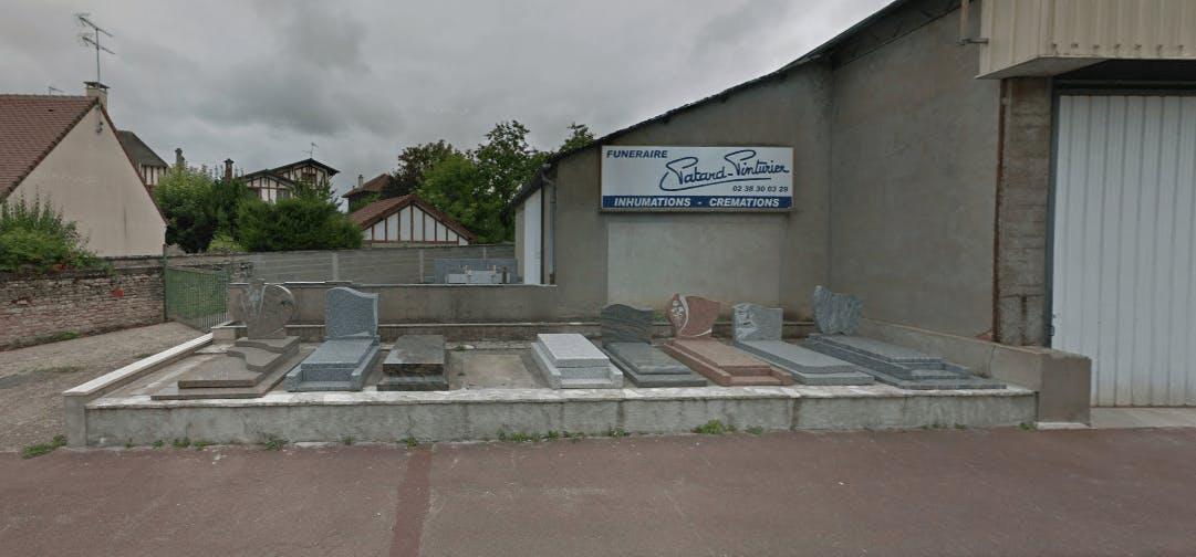 Photographie Pompes Funèbres Patard-Pinturier de Pithiviers
