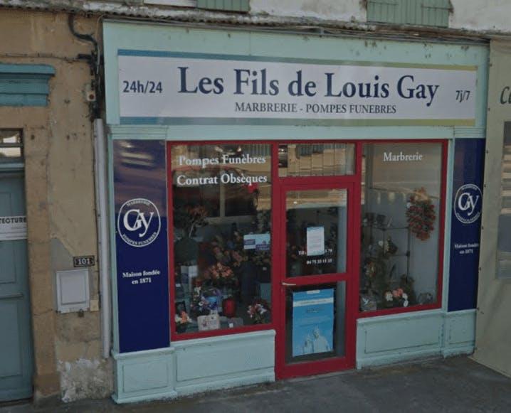 Photo de la Pompe Funèbre Pompes Funèbres Les Fils de Louis Gay