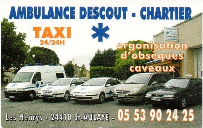 Photo de la Pompe Funèbre AMBULANCE DESCOUT-CHARTIER