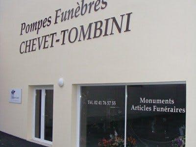 Photo de la Pompe Funèbre Chevet Tombini Pompes Funèbres et Marbrerie