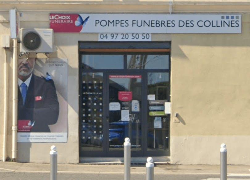 Photographie de la Pompes Funèbres des Collines - Le Choix Funéraire