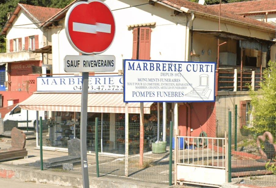Photographie de la Marbrerie CURTI