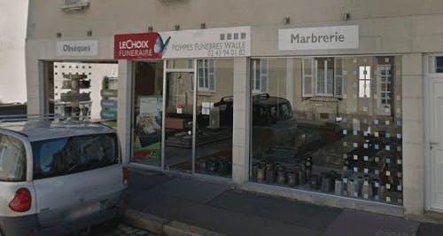 Photo de la Pompe Funèbre POMPES FUNÈBRES MARBRERIE WALLE