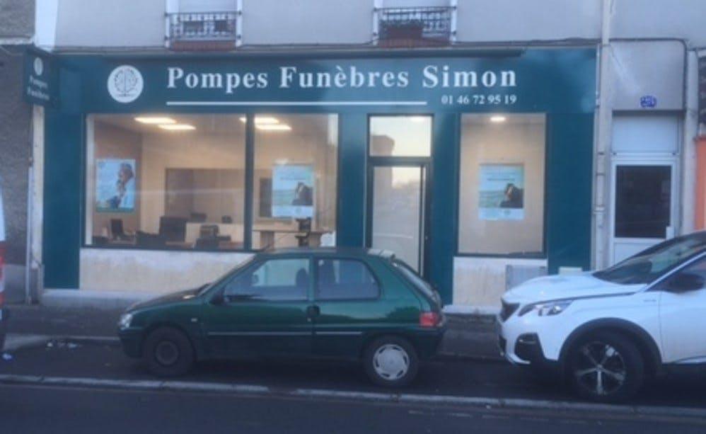 Photo de la Pompe Funèbre POMPES FUNEBRES SIMON