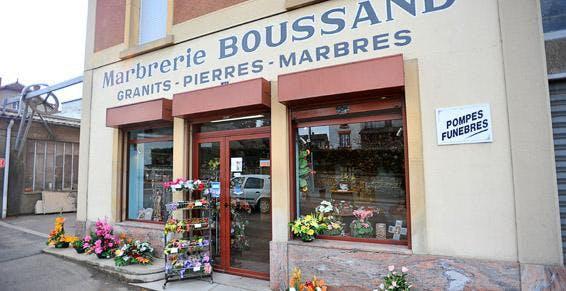 Photo de la Pompe Funèbre MARBRERIE BOUSSAND