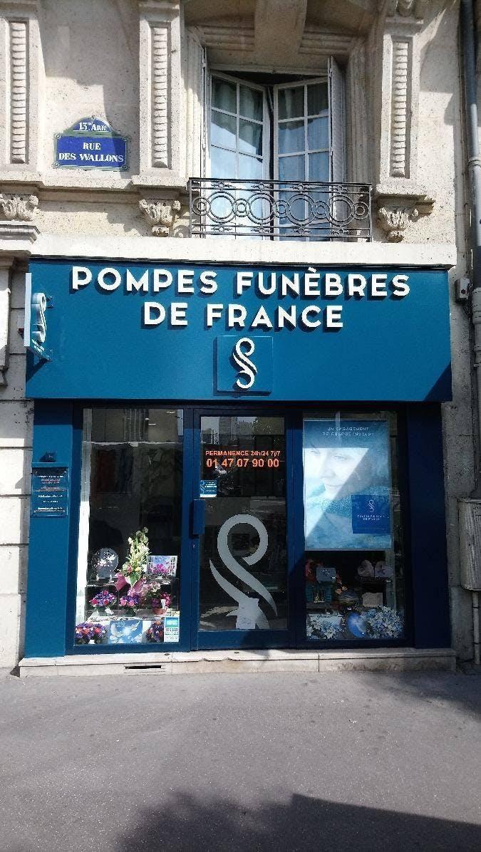 Photo de la Pompe Funèbre POMPES FUNEBRES DE FRANCE