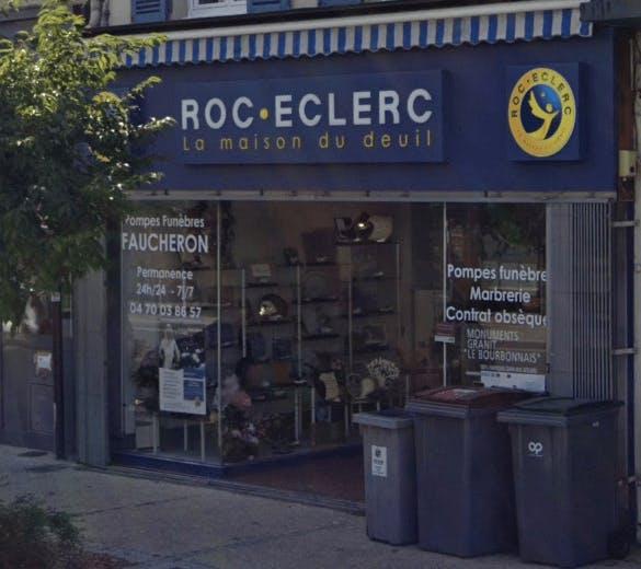 Photographie de la Pompes Funèbres Roc-Eclerc