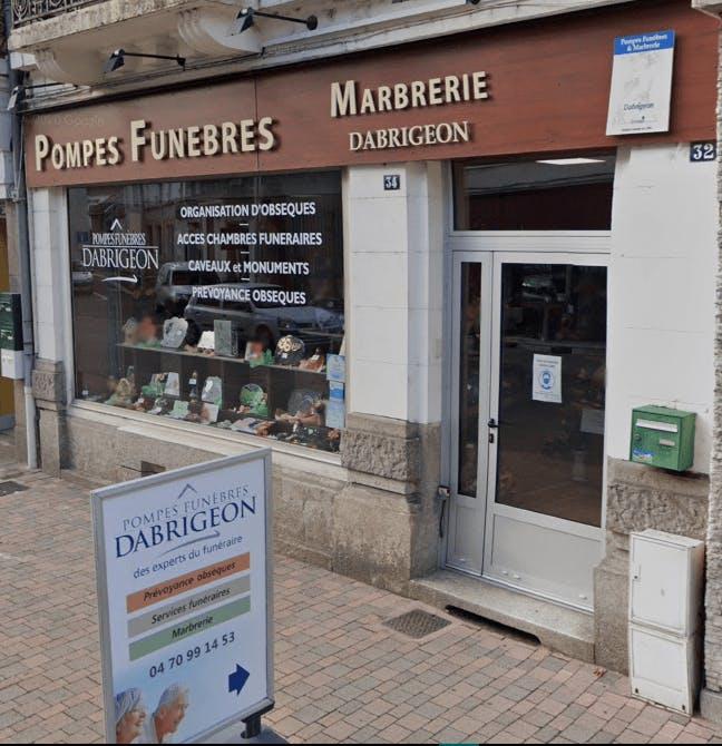 Photographie de la Pompes Funèbres Dabrigeon - FUNERIS