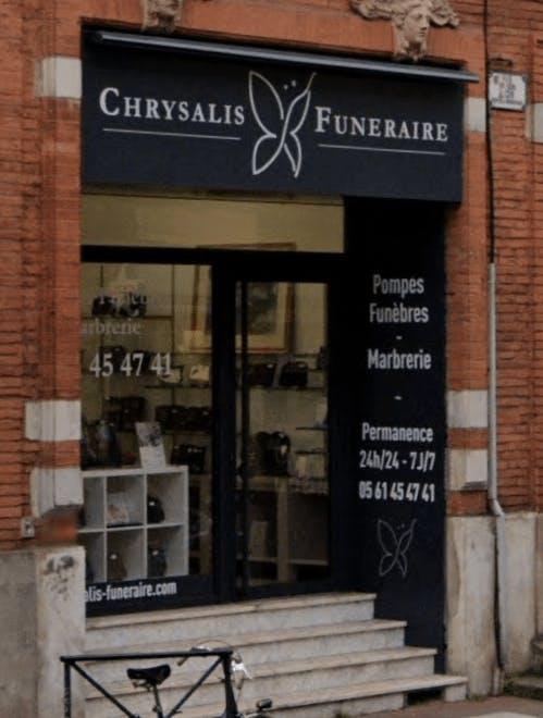 Photographie du Chrysalis Funéraire